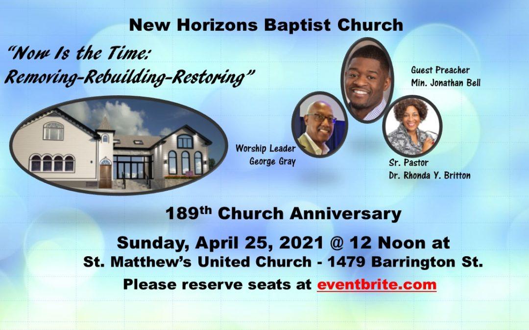 189th Church Anniversary